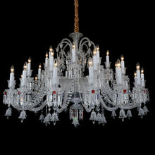 European and American style dining leaded glass chandelier
