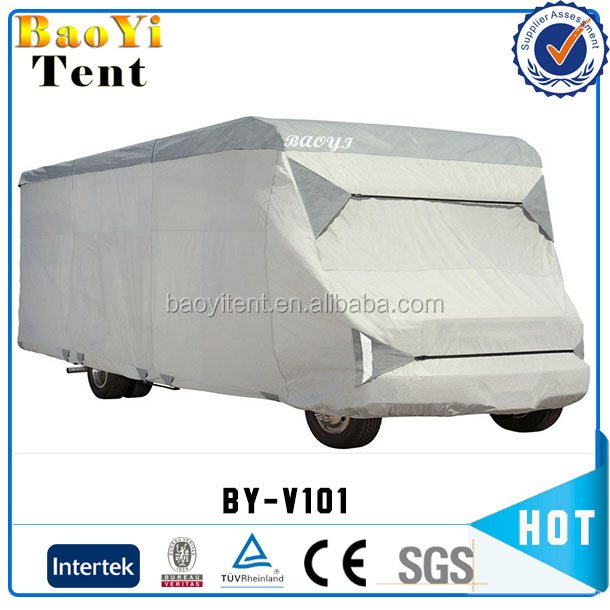 waterproof and practical non woven fabric RV wheel cover car cover