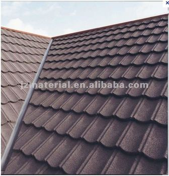 Manufactory Anti Fade Stone Coated Metal Roof Tile Natual