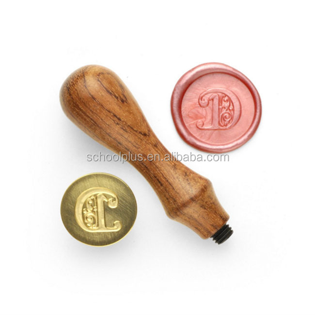 Monogram Personalized Picture Letter Logo Wedding Invitation Wax Seal Stamp