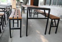 folding garden picnic table and bench