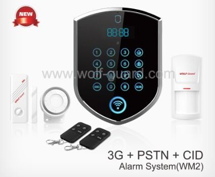 Hot New Products Smart Home gsm + wifi dual network burglar alarm system with IP camera ! GPRS home alarm system with APP + CID