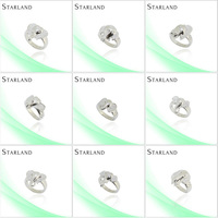 Starland western Fine and noble Hot Sell Silver Ring Jewelry supplies