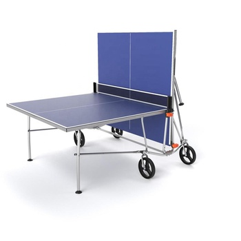 Outdoor movable foldable table tennis table