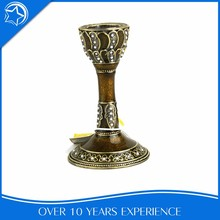 Brown Traditional Small Cemetery Discount Candle Holder