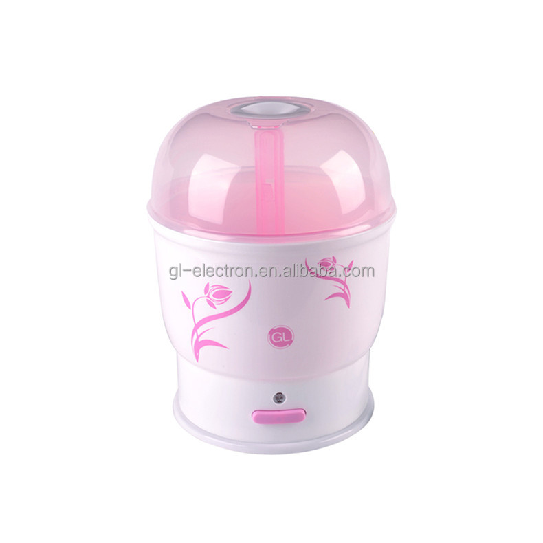 Safety baby bottle steams sterilizer with PP material