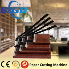 SIGO factory 828 manual wooden paper cutter/wood cutting guillotine
