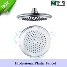 ABS plastic rotating shower head