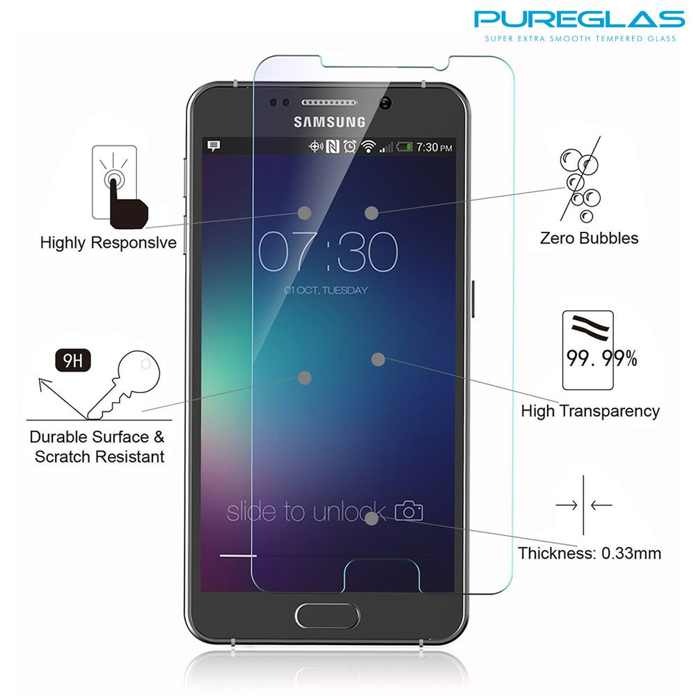 Mobile phone use premium tempered glass for samsung galaxy note 5 screen protector small order is accepted