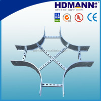 Outdoor cable lifting system cable ladder Support system