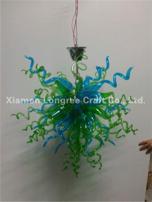 Chinese Custom Made Murano Glass Cheap Chandelier Modern Crystal LED Ceiling Light