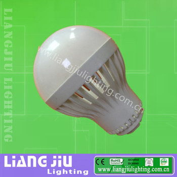 Led bulb plastic round lamp cover &housing for 3w 5w 7w 9w 12w 15w