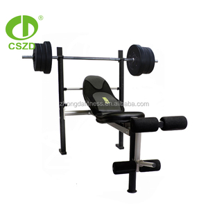 High Quality Gym Equipment PU Small Portable Weight Bench