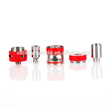 2017 hot new products rebuildable ceramic wick tank newest design vapor 1.0 ohm wholesale EC II Tank