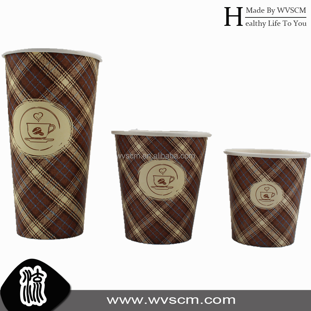 disposable tea cups and saucers from OEM factory good heat protect