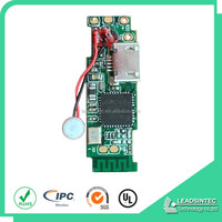 small bluetooth speaker printed circuit board, HASL leadfree pcb & pcba Shenzhen