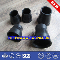 Customized Durable EPDM Reducing Coupling Rubber Sleeves for Pipes
