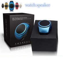 New Mini Wireless Bluetooth Speaker Watch Portable TF Card Stereo Music Watch Sports Style Outdoor Speaker For Mobile Phones