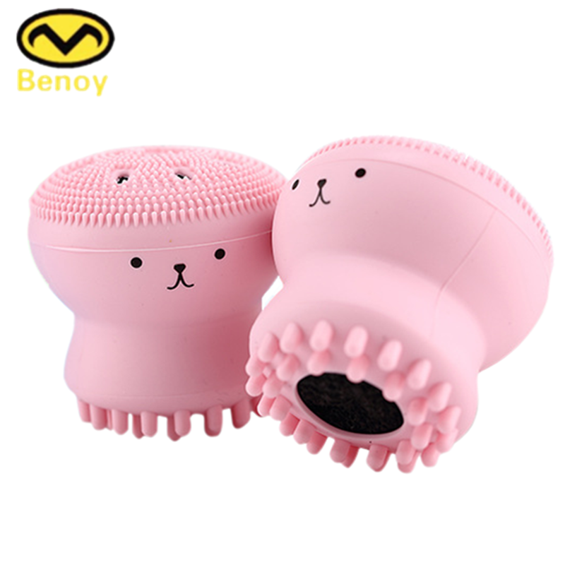 Amazon Top Seller 2017 Beauty Product Reviews Silicone Mini Face Wash Cleansing Brush