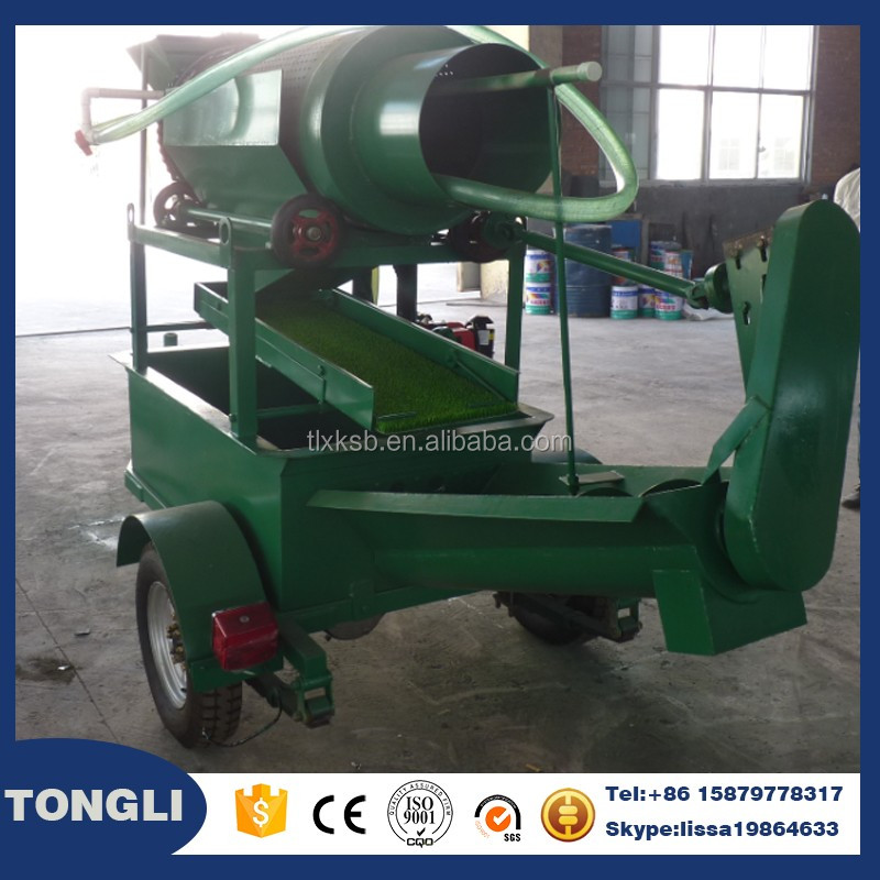 Hydraulic mining equipment small scale gold wash plant from China