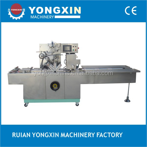 BTB-300C automatic cellophane packing machine with tear tape