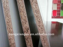 faced chipboard/particle board/flake board