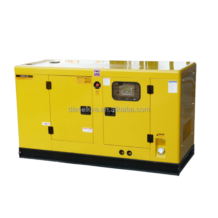 best price 30KVA diesel generator USA engine 4B3.9-G2 diesel power generator soundproof made in china