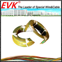 Heat resistant lead ptfe insulated teflon wire and cable