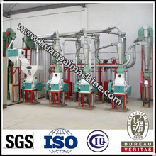 Low cost top quality 10t wheat processing plant