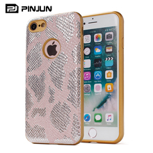 PU+TPU protective pattern cell phone carrying cover for iphone 7 hot case cover