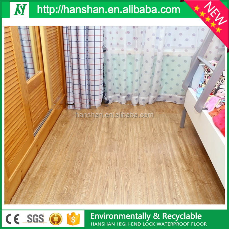 Factory Price Wood Plastic Composite wpc flooring waterstone design vinyl tile/pvc plank/plastic flooring