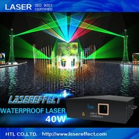 40W RGB waterproof outdoor laser light for large-scale outdoor laser show & stage performance