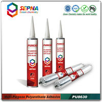 Auto glass adhesive and sealant for windscreen repairing, Polyurethane car auto glass repairing adhesive glue PU8630