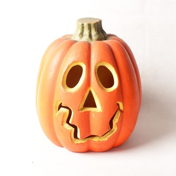 Halloween Pumpkin 12 inches Polyfoam Table Decoration Pumpkin for Home and Garden Decorations