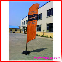 Advertising Beach Feather Flag Banners And Signs