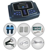 2015 Multifunction electrodes tens acupuncture digital therapy machine massager