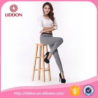 breathable sports wear cotton trousers for lady cashmere-like acrylic pants