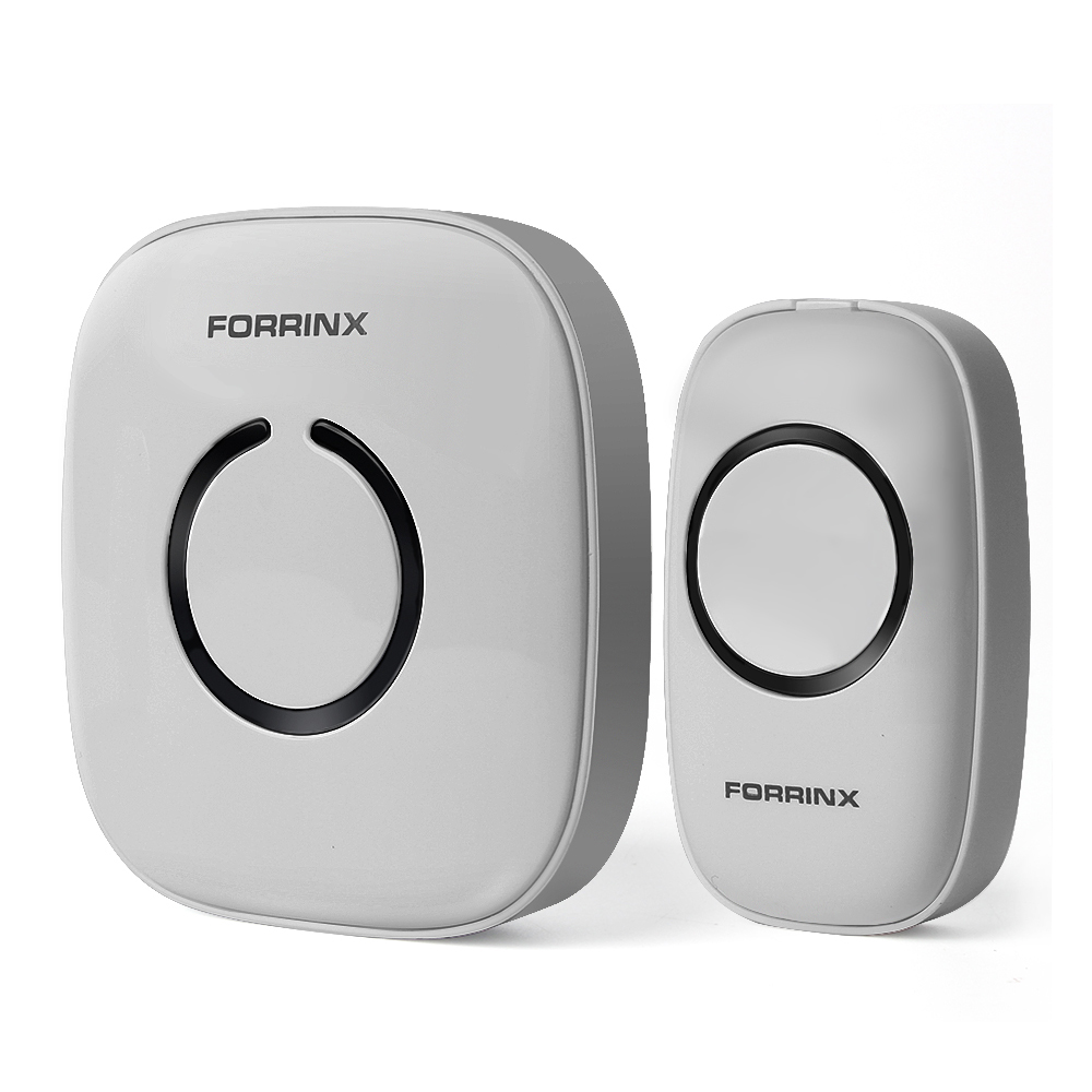 Easy install durable Amazon best selling wireless doorbell with 52 melodies 300M wireless range