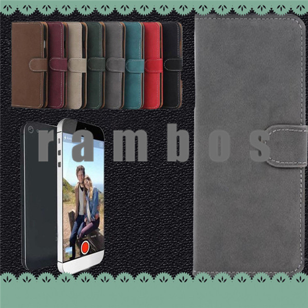 Vintage Desgin PU Leather Slim Magnetic Flip Wallet Case Cover for Huawei Ascend P7 G700 P6 Honor 6 3 3C