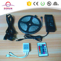 High Quality 12V 5050 60leds/m rgb led strips lighting Kit