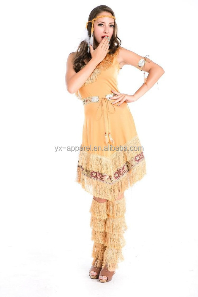 Indian maiden costume women adult native american costume