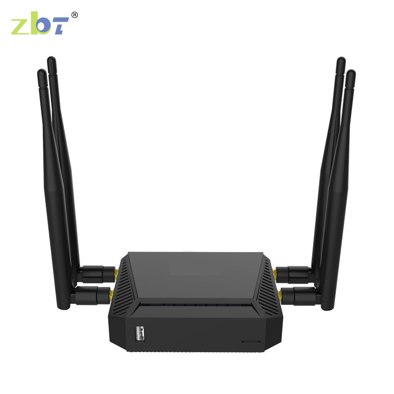 4g modem lte router wifi with sim card slot with 1 WAN port 4 LAN port