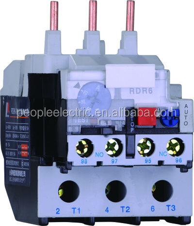 PEOPLE RDR6 series Thermal overload relay