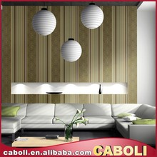 Caboli hot sale pvc fashion style wallpaper home decor