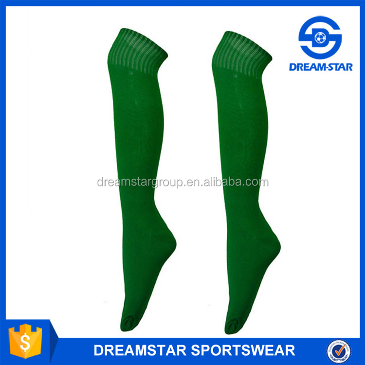 Customized Knee High Pure 100% Polyester Socks With Fast Delivery