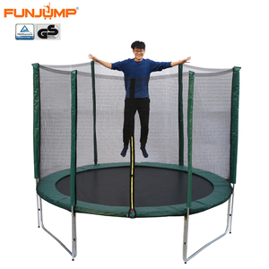 Hot sale FUNJUMP cheap big kids trampolines with shoebag