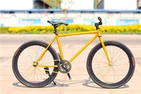 "24"" Fixed gear sports steel chinese carbon road bike frame"