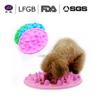 New Arrive Wholesale Silicone Interactive Pet Feeder Bloat Stop large&small plastic Bowl