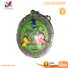 Intellect toys for children small puzzle ball 6.8 CM maze ball with key ring, mini labyrinth