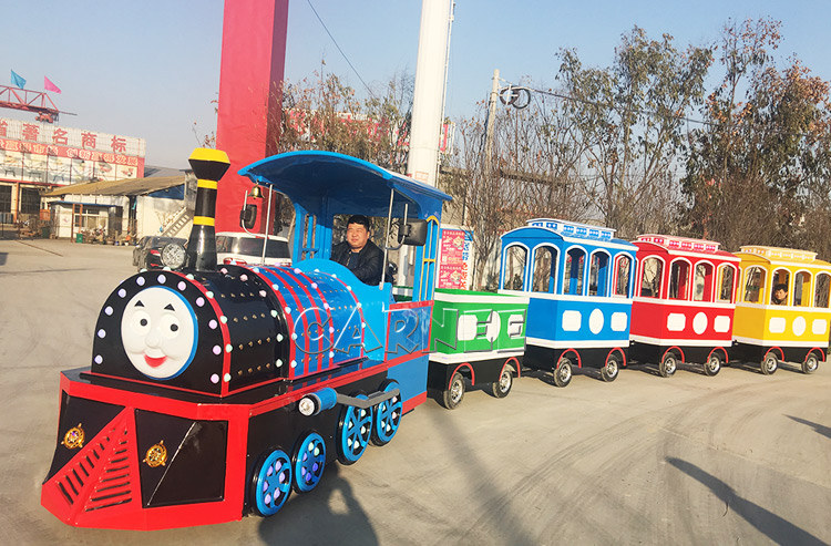 Shopping Mall Electric Trackless Train Rides for Kids Attractions